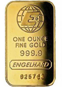 Engelhard Gold Bars